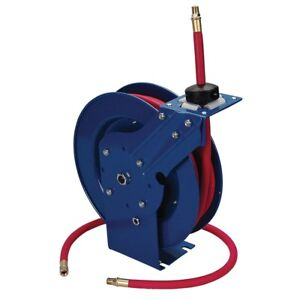3 8 X 25 Ft Retractable Air Hose Reel With Hose tp 5095