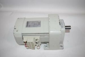 Mitsubishi Geared Motor Gm h2 200v 50 60hz 30 36rpm Gear Ratio 1 50