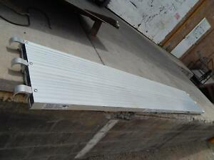 Lot Of 10 Werner Aluma Plank Aluminum Scaffolding Decks 10 Ft X 19 In Osha