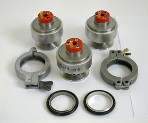 Small Lot Of High Vacuum System Parts Possibly Gauge Related Please See Photos