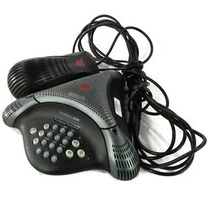 Polycom Voicestation 300 Audio Conference Phone 2201 17900 001 W Wall Module