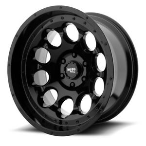 17 Moto Metal Mo990 Rotary Black Wheel 17x9 5x5 12mm Lifted Jeep Wrangler Rim
