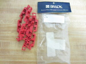 Brady 65688 Electrical Lockouts 3t986 pack Of 6