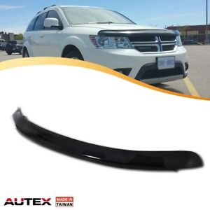 Autex Acrylic Bug Shield Hood Protector Dark Smoke For 09 17 Dodge Journey