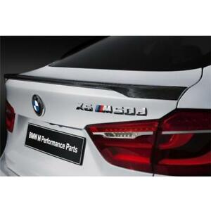 Uv resistant Carbon Fiber Rear Sport Trunk Spoiler Wing For Bmw F16 X6 F86 2014