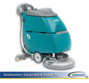 Demo Tennant T2 Disk 17 Floor Scrubber Pad Driven
