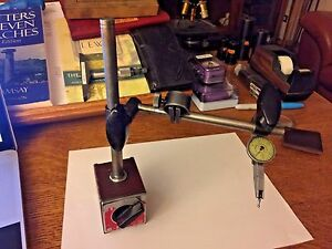 Federal Testmaster T 1 001 Magnetic Base Indicator Stand Mb Bv