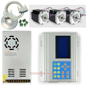 Upgrade Cnc 3axis Stepper Driver Box Kit 1 8nm For Router And Milling Machine