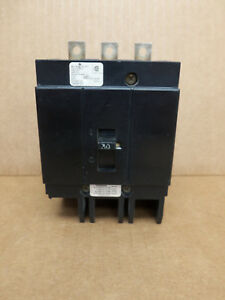 Challenger Ch Ch3030 3 Pole 480v 30 Amp Circuit Breaker Flawed