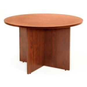 Legacy 42 Round Conference Table Cherry