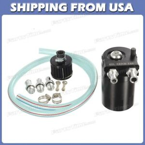 Cylinder Reservoir Breather Oil Catch Tank Can For 2000 2017 Bmw X5 X3 Black