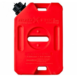 Rotopax Durable Leakproof 1 Gallon Epa Safe Gasoline Container And Spout Red