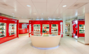 Ferrari Boutique Store Displays furniture Cabinets Tables And Cases Only