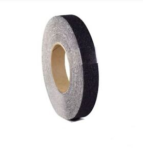 4 Pack 1 X 60ft Black Roll Safety Non Skid Tape Anti Slip Grip Safe Grit New