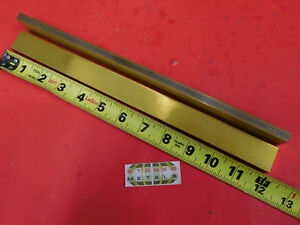2 Pieces 3 8 X 1 C360 Brass Flat Bar 12 Long Solid Mill Stock H02 375 x 1 0