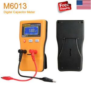 Digital Capacitance Meter Lcd 0 01pf 470000uf Measure Measuring Instrument New