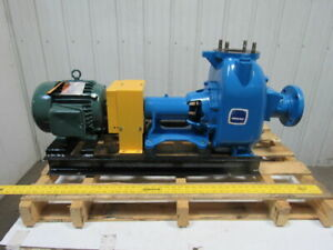 Gorman Rupp 83c3 3 Self Priming Centrifugal Pump 3 X 3 5 Hp 230 460v 3ph