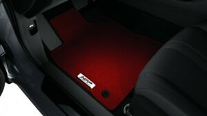 Genuine Oem 2017 2018 Honda Civic Si Hatchback Hfp red Carpet Floor Mat Set