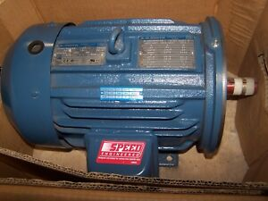 New Ao Smith 5 Hp Ac Electric Motor 184t Frame 230 460 Vac 3490 Rpm