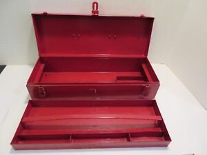 Vintage Snap On Tool Box With Original Carry Tray