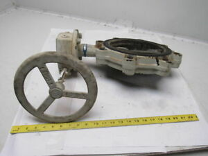 Milwaukee Ml222b A S 8 Butterfly Valve W manual Hand Lever Actuated