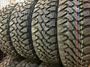 4 New Centennial Dirt Commander M T Lt285 70r17 Load E 10 Ply Mt Mud Tires
