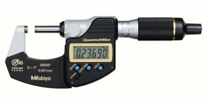 Mitutoyo 293 185 30 Quantumike Outside Micrometer