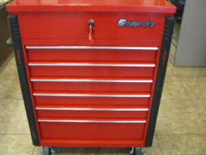 Snap on Tool Box Roll Around 6 Drawer Large Top And Bottom mint