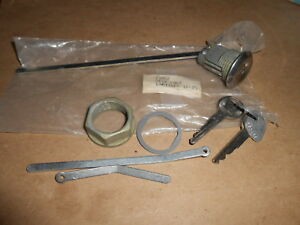 Nos Mopar 1972 1975 Chrysler Cordoba New Port Imperial Lebaron Trunk Lock 21852