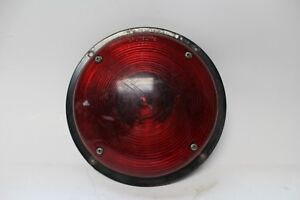 Vintage Original Grotelite 256 Stop Tail Light Housing Sae S a1 583a