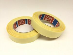 2 Pack 4934 Tesa Tape 25mm Double Sided Tape Fabric Backing x2