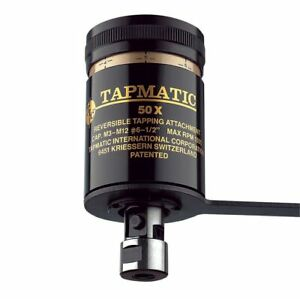 Tapmatic 50x 3 8 24 Mount Tapping Head