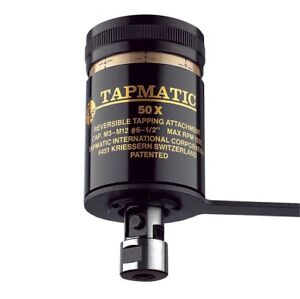 Tapmatic 50x Jt6 Mount Tapping Head