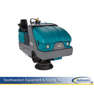 Reconditioned Tennant S20 Lp Powered Rider Sweeper