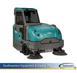 Reconditioned Tennant S30 Lp Rider Sweeper With Cab