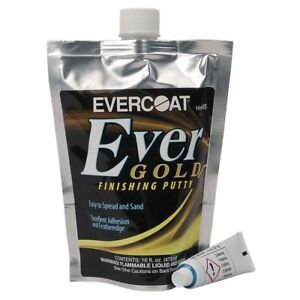 Evercoat Evergold Finishing Putty 16 Oz Bag Made In Usa Me 405