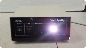 Welch Allyn Lx 150 45150 Light Source 154918