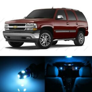 18 X Ice Blue Led Interior Light Package For 2000 2006 Chevy Tahoe Pry Tool