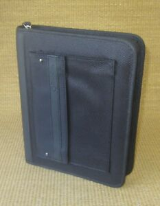 Classic 1 125 Rings Black Durable Sport Franklin Covey Zip Planner binder