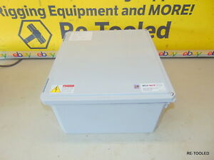 Large Electric Electrical Box Enclosure Stahlin Ds161408hw Diamondshield New