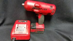 Snap on Tools Ct7850 18v Cordless Impact Wrench W Charger Battery Ships Fast
