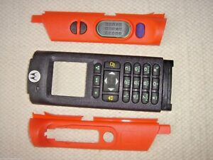 New Motorola Apx6000 Apx8000 M3 Orange Housing Inc Free Shipping Kt000035c01