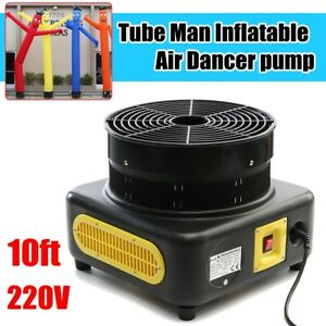 10ft Tube Man Inflatable Air Winder Dancing Dancer Puppet Wind Flying Air Blower
