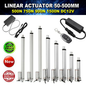 Linear Actuator 12v Electric Motor 500 1500n 50 300mm Solar Tracker Door Open