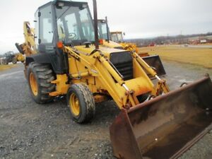 Ford 455c Tractor Loader Backhoe 2x4 Cab Only 3903 Hours Pilot Controls