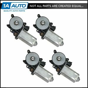 Power Window Lift Motor Front Rear Kit Set Of 4 For 95 01 Chevy Lumina