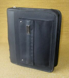 Classic 2 Rings Black Durable Sport Franklin Covey Zip Planner binder