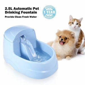 Mumu New Life Cat Drinking Fountain Automatic Dog Water Dispenser Dogs Drink