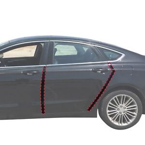 2013 18 Fits Ford Fusion 4pc Invisible Door Edge Guards Pre Cut Custom Fit Clear