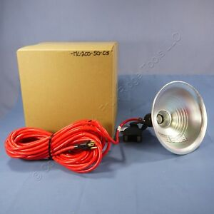 Heavy Duty Utility Magnetic based Incandescent Job Site Spot Light With 50 Cord